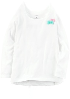Carter's Girls' Knit Tee 253g795   Toddler