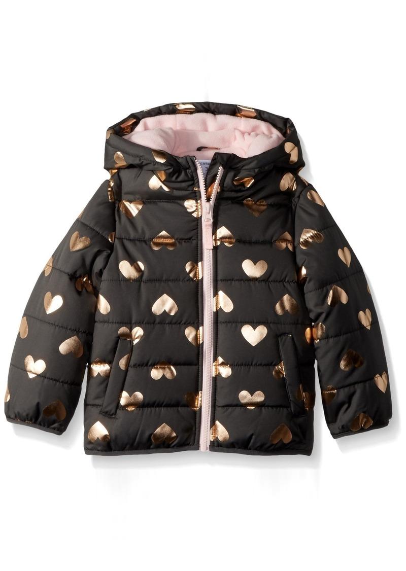 f9ba0d26bac0 SALE! Carter s Carter s Girls  Toddler Fleece Lined Puffer Jacket Coat