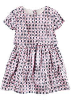 Carter's Girls' Woven Dress 21g27  T Toddler