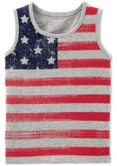 Carter's Graphic-Print Cotton Tank Top, Little Boys