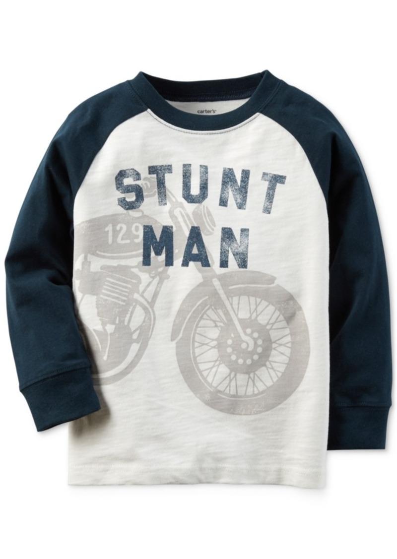 Carter's Graphic-Print Raglan-Sleeve T-Shirt, Toddler Boys (2T-4T)