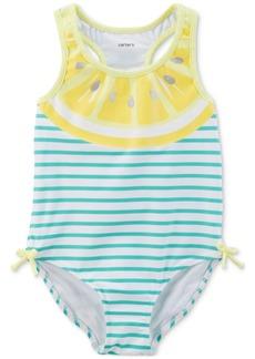 Carter's Lemon-Print Swimsuit, Baby Girls