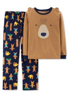 Carter's Little & Big Boys 2-Pc. Bear Pajama Set
