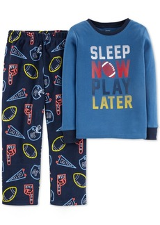Carter's Little & Big Boys 2-Pc. Sleep Now Play Later Pajamas Set