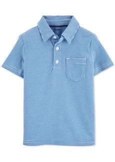 Carter's Little & Big Boys Cotton Striped Polo Shirt