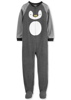Carter's Little & Big Boys Fleece Penguin Pajamas
