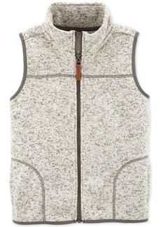 Carter's Little & Big Boys Fleece Zip-Up Vest