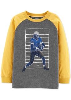 Carter's Little & Big Boys Football-Print Cotton T-Shirt