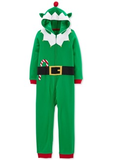 Carter's Little & Big Boys Hooded Elf Pajamas