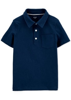 Carter's Little & Big Boys Pique Cotton Polo Shirt