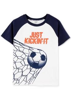Carter's Little & Big Boys Soccer-Print Cotton T-Shirt