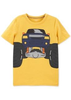 Carter's Little & Big Boys Truck-Print Zipper T-Shirt