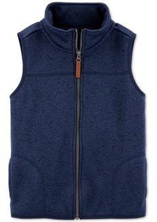 Carter's Little & Big Boys Zip-Up Faux-Sherpa Vest
