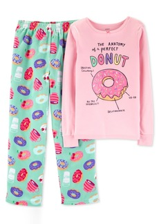 Carter's Little & Big Girls 2-Pc. Donut Snug-Fit Pajama Set