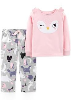 Carter's Little & Big Girls 2-Pc. Owl Pajama Set