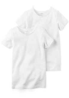 Carter's Little & Big Girls 2-Pk. Cotton T-Shirts