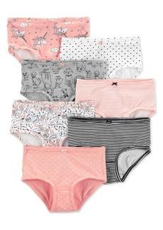 Carter's Little & Big Girls 7-Pk. Printed Underwear