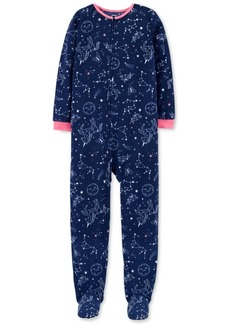 Carter's Little & Big Girls Constellation-Print Fleece Pajamas