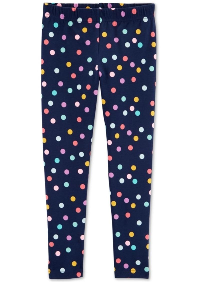 Carter's Little & Big Girls Dot-Print Leggings