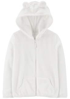 Carter's Little & Big Girls Fleece Zip-Up Hoodie