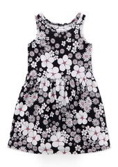 Carter's Little & Big Girls Floral-Print Cotton Tank Dress