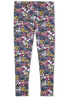 Carter's Little & Big Girls Floral-Print Leggings