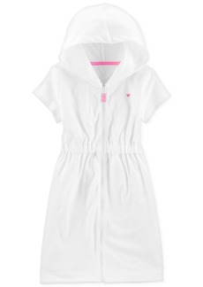 Carter's Little & Big Girls Hooded Zip-Up Cover-Up