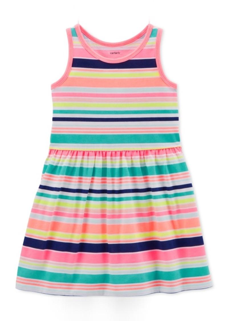 efff27346db4 Carter s Carter s Toddler Girls Striped Cotton Tank Dress