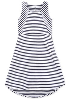 Carter's Little & Big Girls Striped High-Low Dress