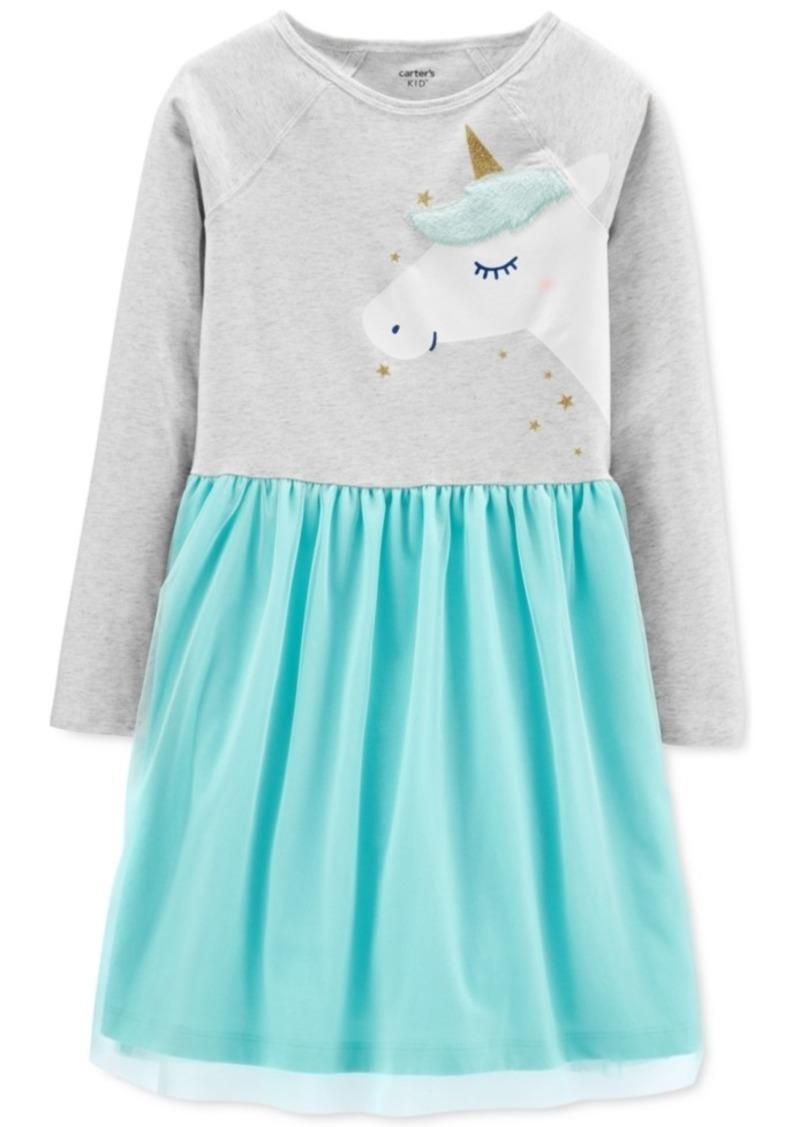 Carter's Little & Big Girls Unicorn Tutu Dress