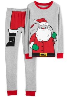 Carter's Little Boys 2-Pc. Santa Suit Cotton Pajamas
