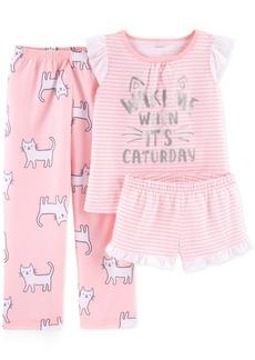 25f0b6f7e Carter s Carter s 1-Pc. Bear-Face Footed Pajamas