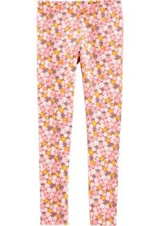 Carter's Little Girls Floral Leggings