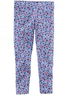 Carter's Little Girls' Floral Print Leggings (Toddler/Kid) -  -