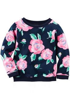 Carter's Little Girls' Floral Top (Toddler/Kid) -  -