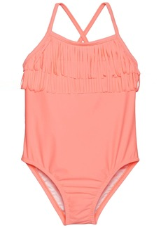 Carter's Little Girls' Fringed Top One Piece Swimsuit