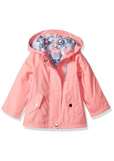 Carter's Little Girls' Snap Pocket Fleece-Lined Windbreaker