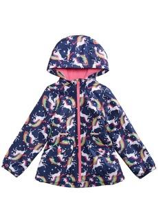 Carter's Little Girls Unicorns & Rainbows Hooded Jacket