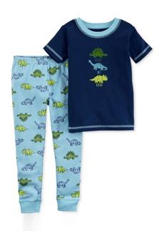 Carter's Little Planet Organics 2-Pc. Dinosaurs Cotton Pajama Set, Baby Boys