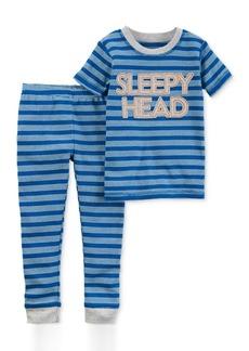 a27f3d4db Carter s Carter s 4-Pc. Bedtime Varsity Cotton Pajama Set