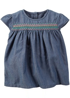 Carter's Smocked Top