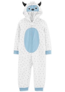 Carter's Toddler Boys 1-Pc. Fleece Abominable Snowman Pajama