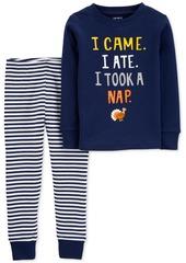 Carter's Toddler Boys 2-Pc. Cotton Thanksgiving Pajamas Set