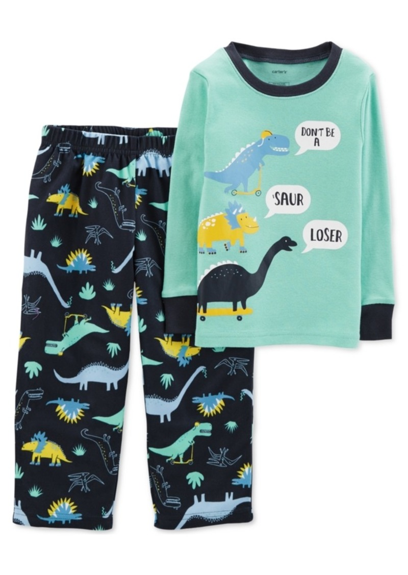 b3b59fcaec3a Carter s Carter s Toddler Boys 2-Pc. Dino-Print Pajamas