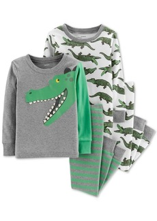 Carter's Toddler Boys 4-Pc. Gators Cotton Pajama Set