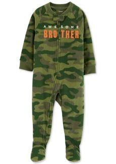 Carter's Toddler Boys Awesome Brother Camo-Print Pajamas