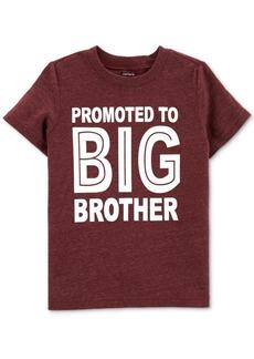 Carter's Toddler Boys Big Brother-Print T-Shirt