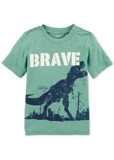 Carter's Toddler Boys Brave-Print Cotton T-Shirt