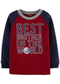 Carter's Toddler Boys Brother-Print Cotton T-Shirt