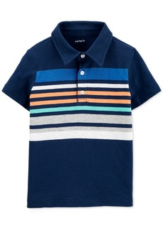 Carter's Toddler Boys Cotton Striped Polo Shirt